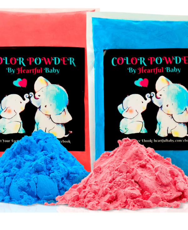Baby gender reveal powder party supplies